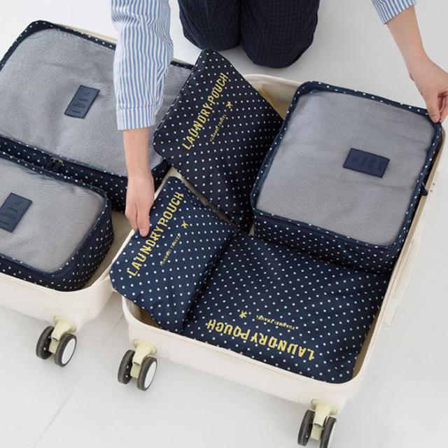 【韓版】繽紛滿滿旅遊衣物收納6件套組【韓版】繽紛滿滿旅遊衣物收納6件套組